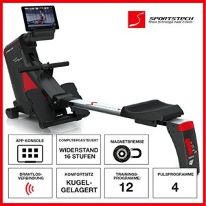 Sportstech RSX500 Rudergerät Funktionen