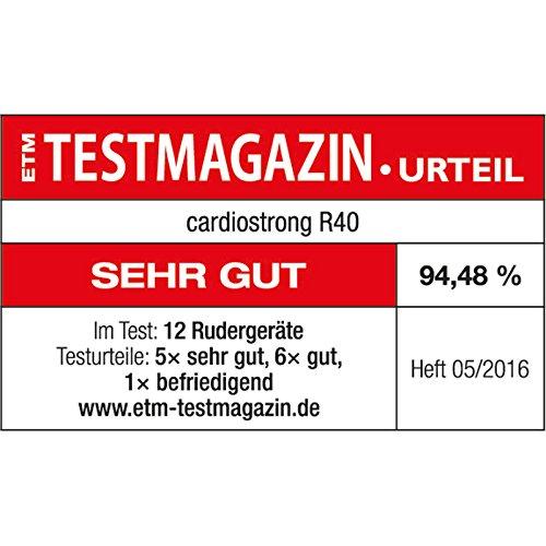 Cardiostrong Rudergerät RX40 Test