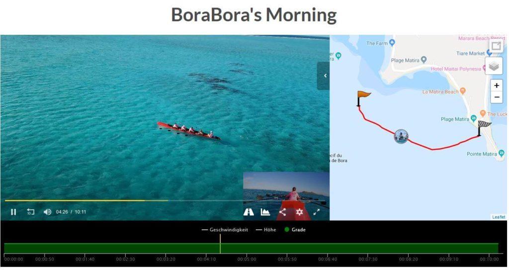Kinomap Bora Bora