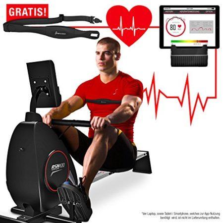 Sportstech RSX400 - Herzfrequenz