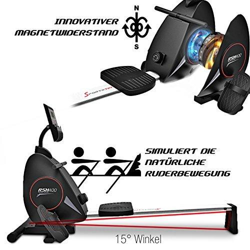 Sportstech RSX400 - Magnetbremse