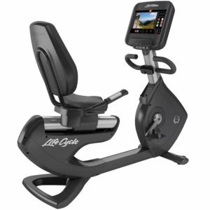 Life Fitness Heimtrainer Platinum Club Series, Discover SE3 Konsole