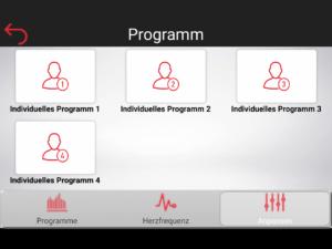 Cardiofit Individuelles Programm