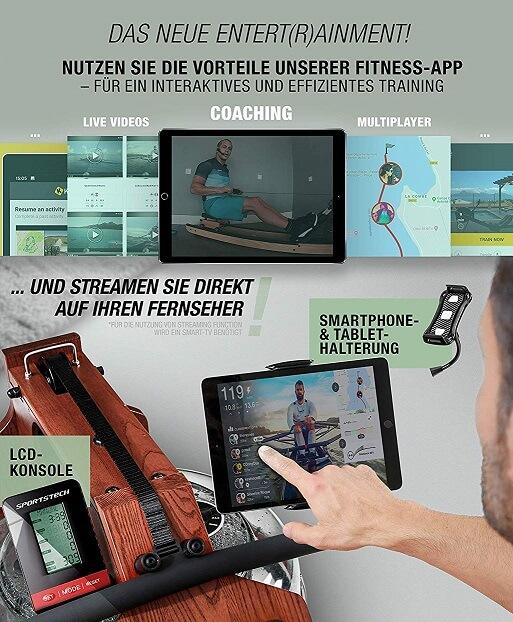 Sportstech WRX700 App