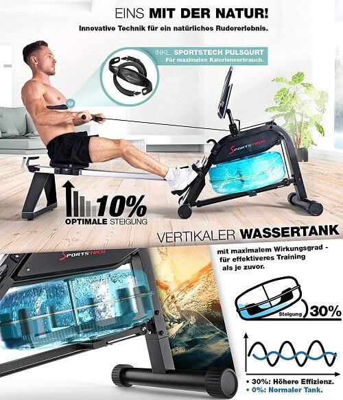 Sportstech WRX400 Widerstand