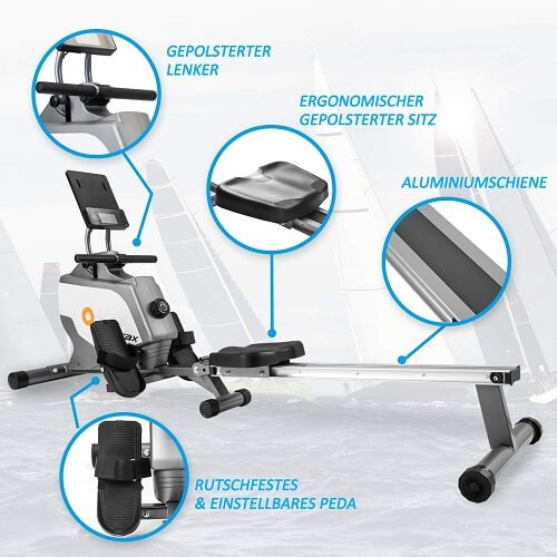 Merax Magnetisches Klapp-Rudergerät Features