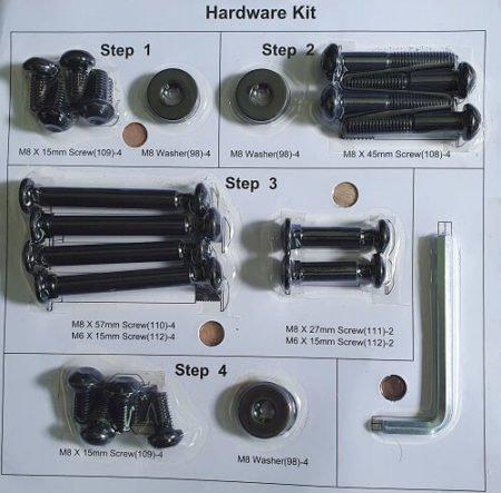 Werkzeug + Schrauben